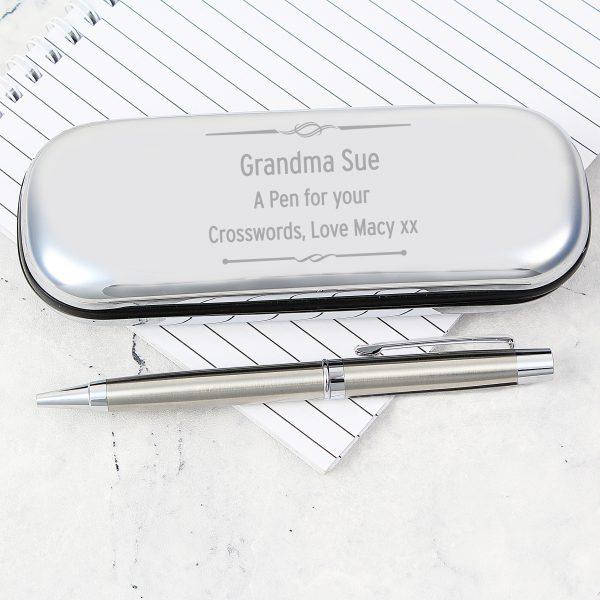 Scroll Pen and Box Set