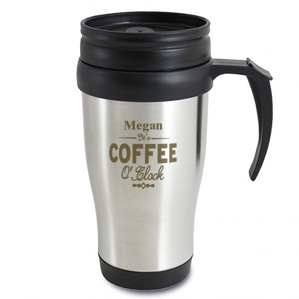 Coffee O'Clock Travel Mug