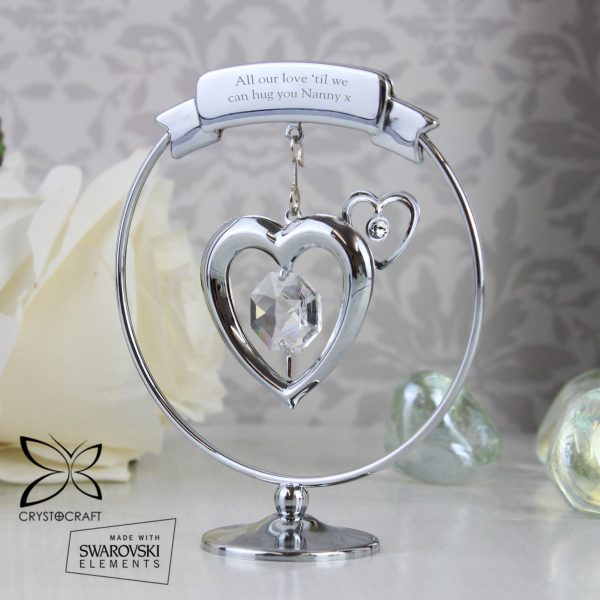 Crystocraft Heart Ornament
