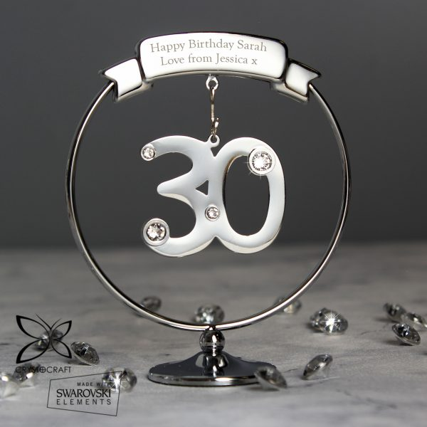 Crystocraft 30th Celebration Ornament