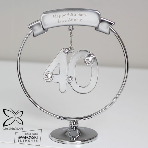 Crystocraft 40th Celebration Ornament