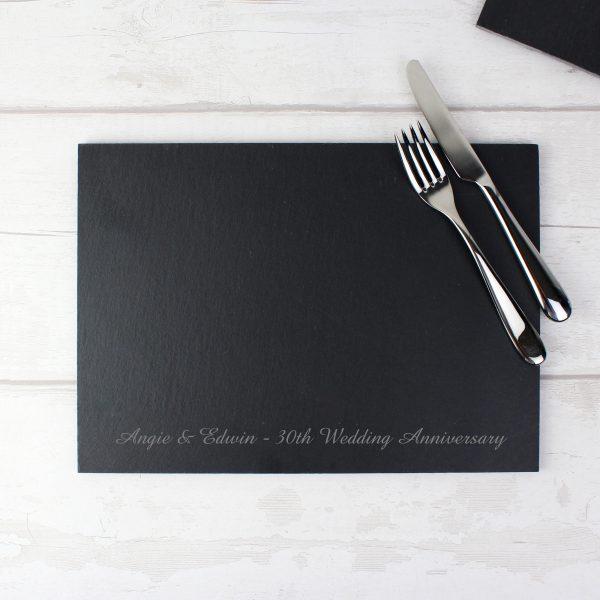 Engraved Slate Board