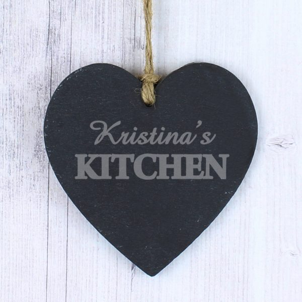 Kitchen Slate Heart