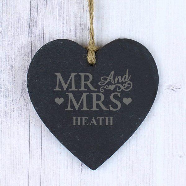 Mr & Mrs Slate Heart