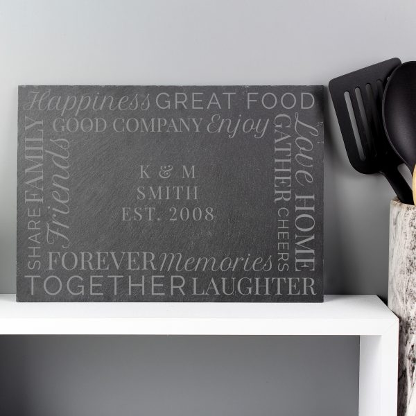 Together' Slate Placemat