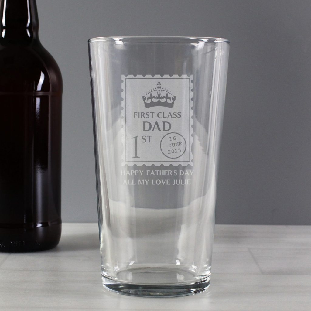 1st Class Pint Glass