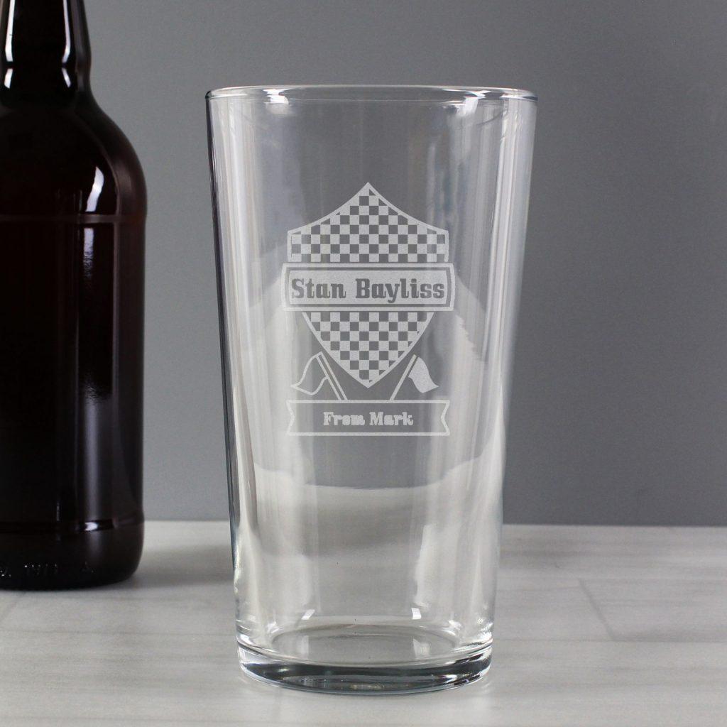 Formula 1 Pint Glass