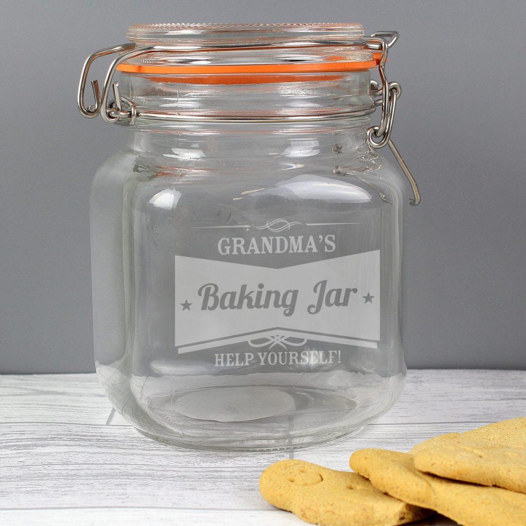 Retro Label Glass Kilner Jar