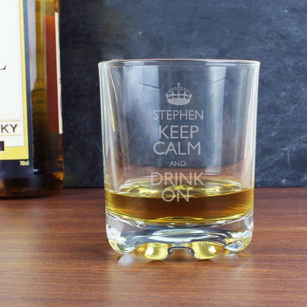 Keep Calm Tumbler