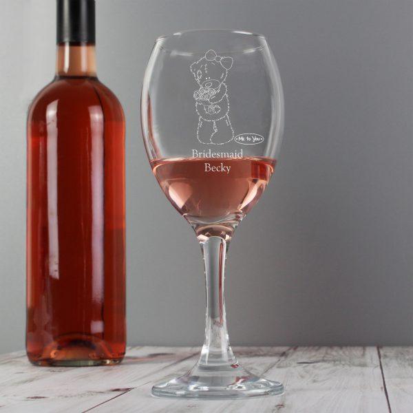Me To You Wedding Female Wine Glass