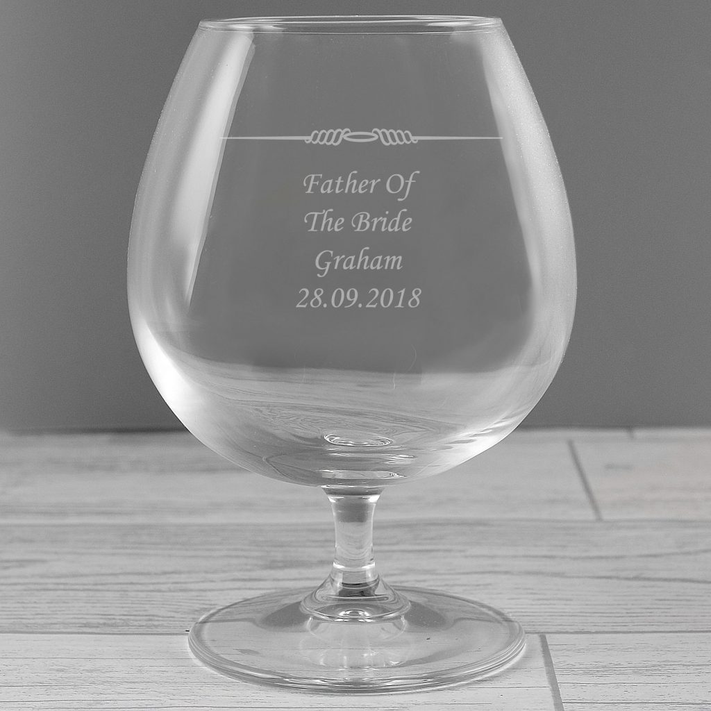 Decorative Brandy Glass