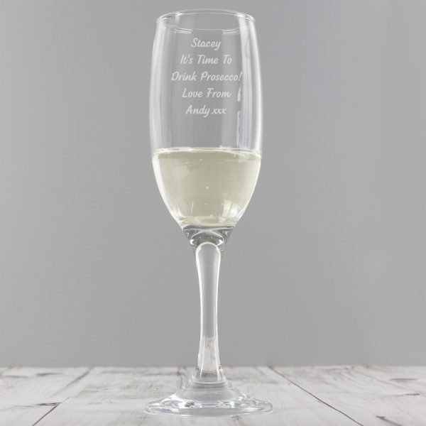 Any Message Prosecco Flute