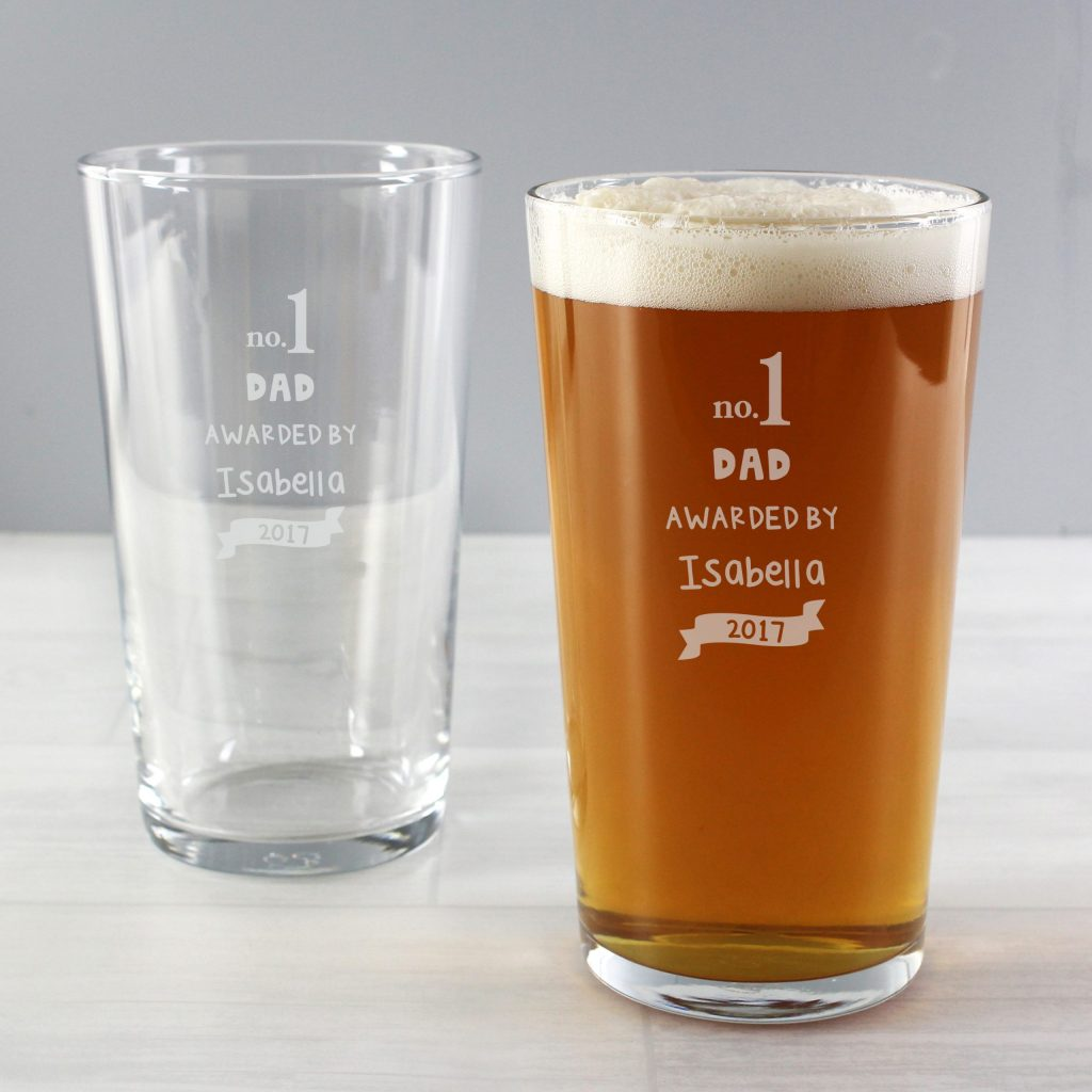 no.1 Awarded By Pint Glass