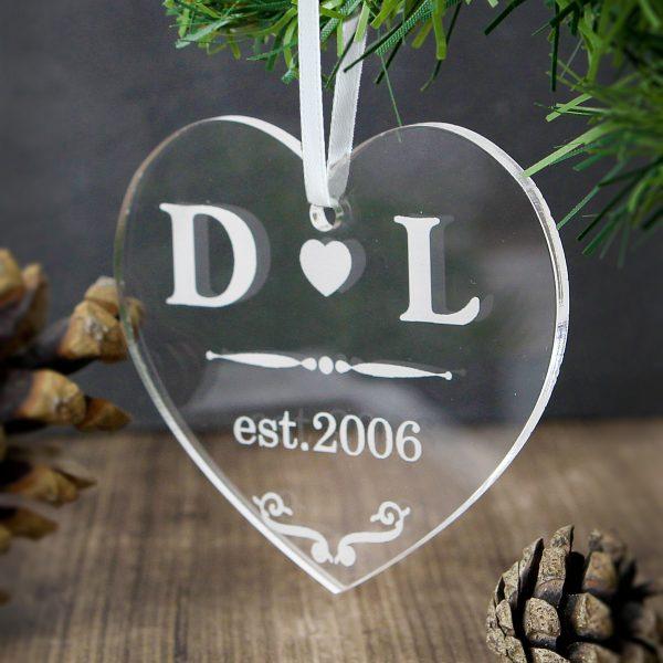 Acrylic Heart Decoration