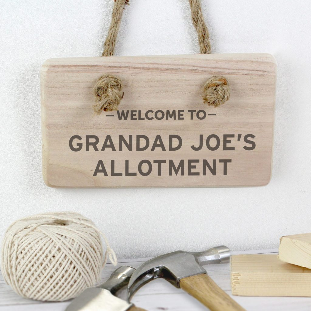 Welcome To... Wooden Sign