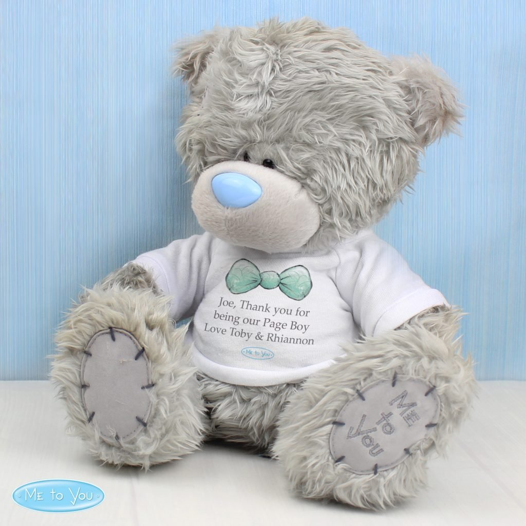 Me To You Page Boy Bear with T-Shirt