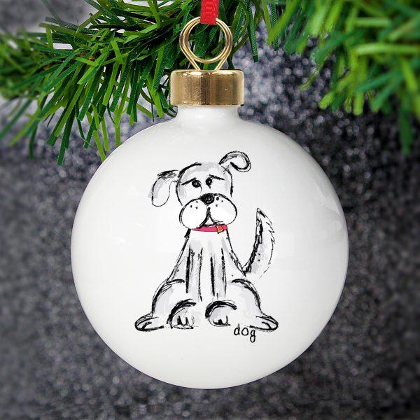Dog Bauble