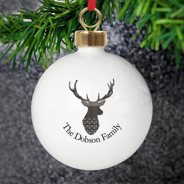 Highland Stag Bauble
