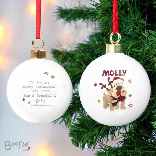 Boofle Christmas Reindeer Bauble