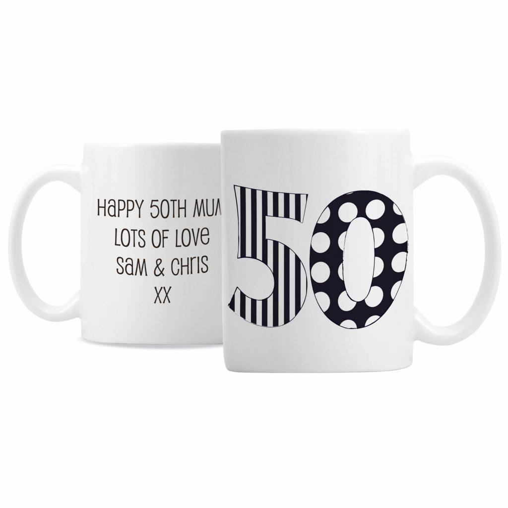 Monotone Numbers Mug