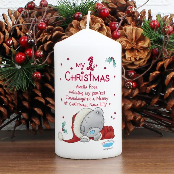 Me To You My 1st Christmas Candle