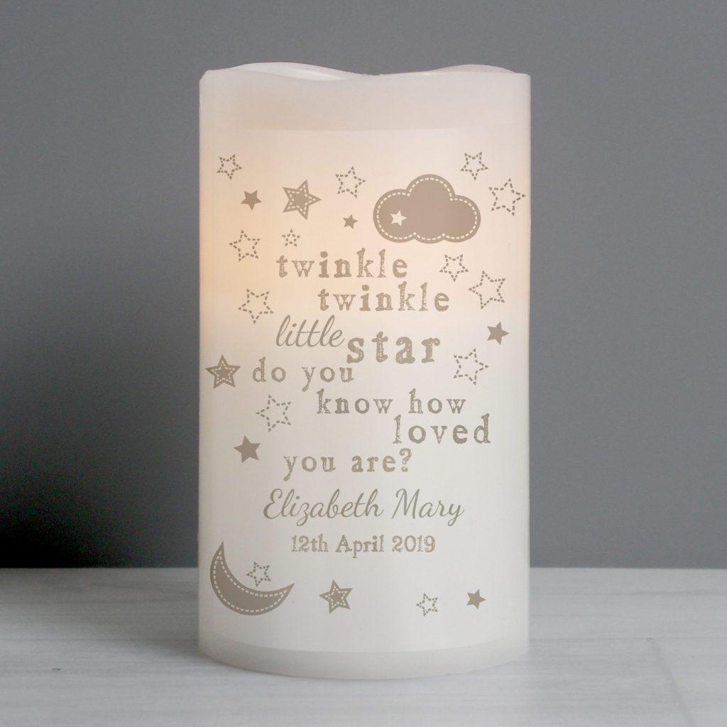 Twinkle Twinkle Nightlight LED Candle