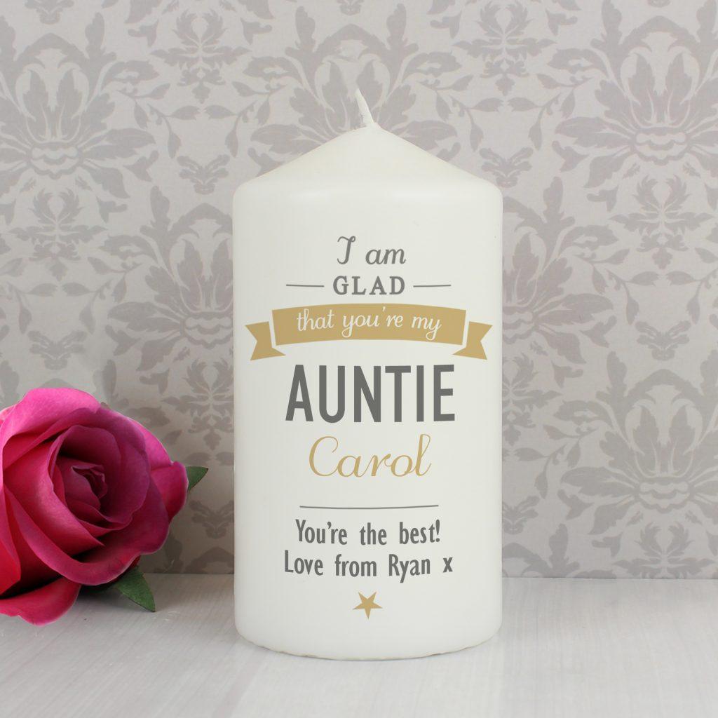 I Am Glad... Candle
