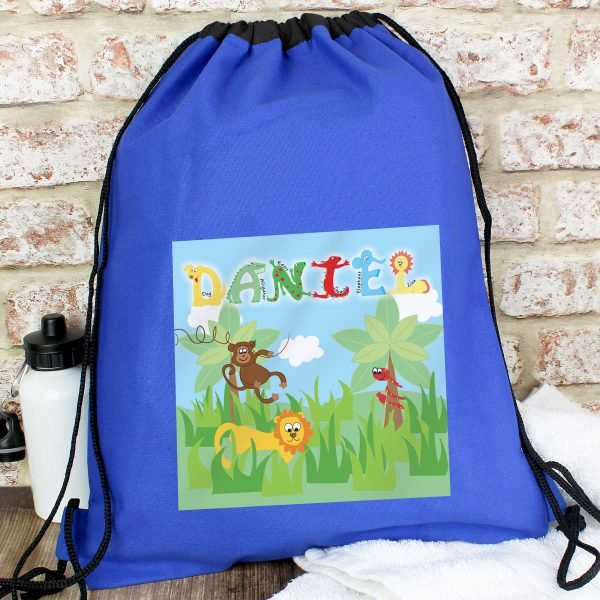Animal Alphabet Boys Swim & Kit Bag