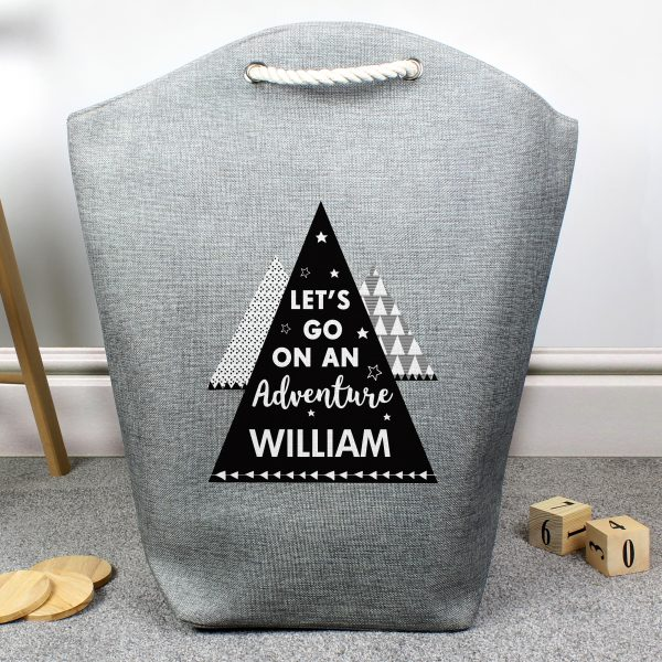 Personalised 'Adventure Is Out There' Storage Bag