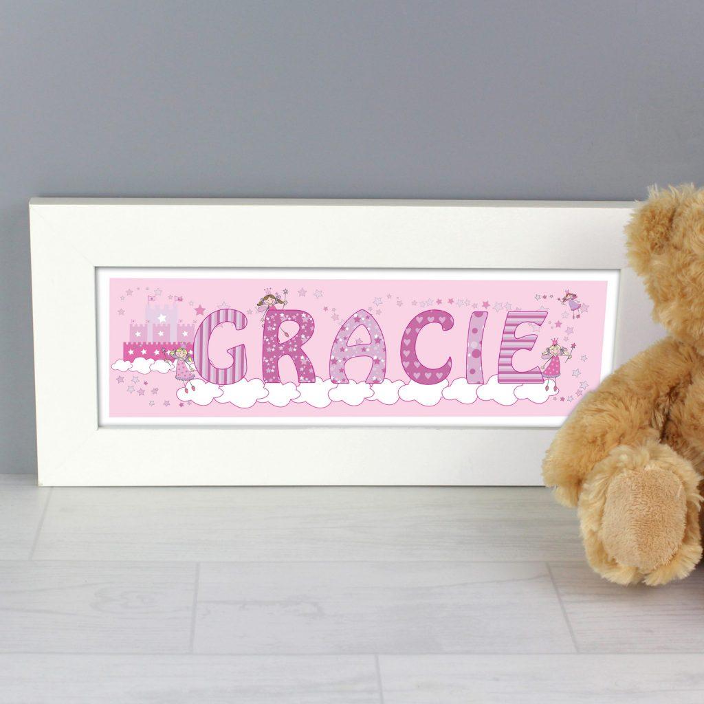 Little Princess Name Frame