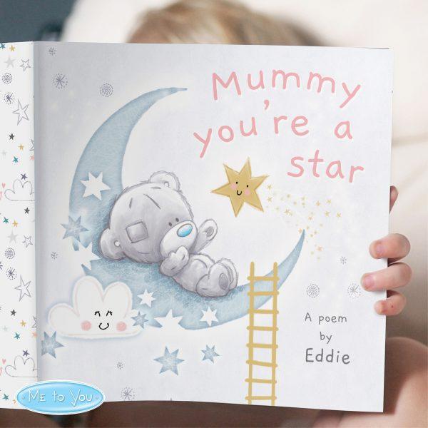 Tiny Tatty Teddy Mummy You're A Star, Poem Book