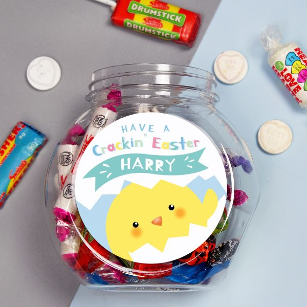 Have A Cracking Easter Sweets Jar