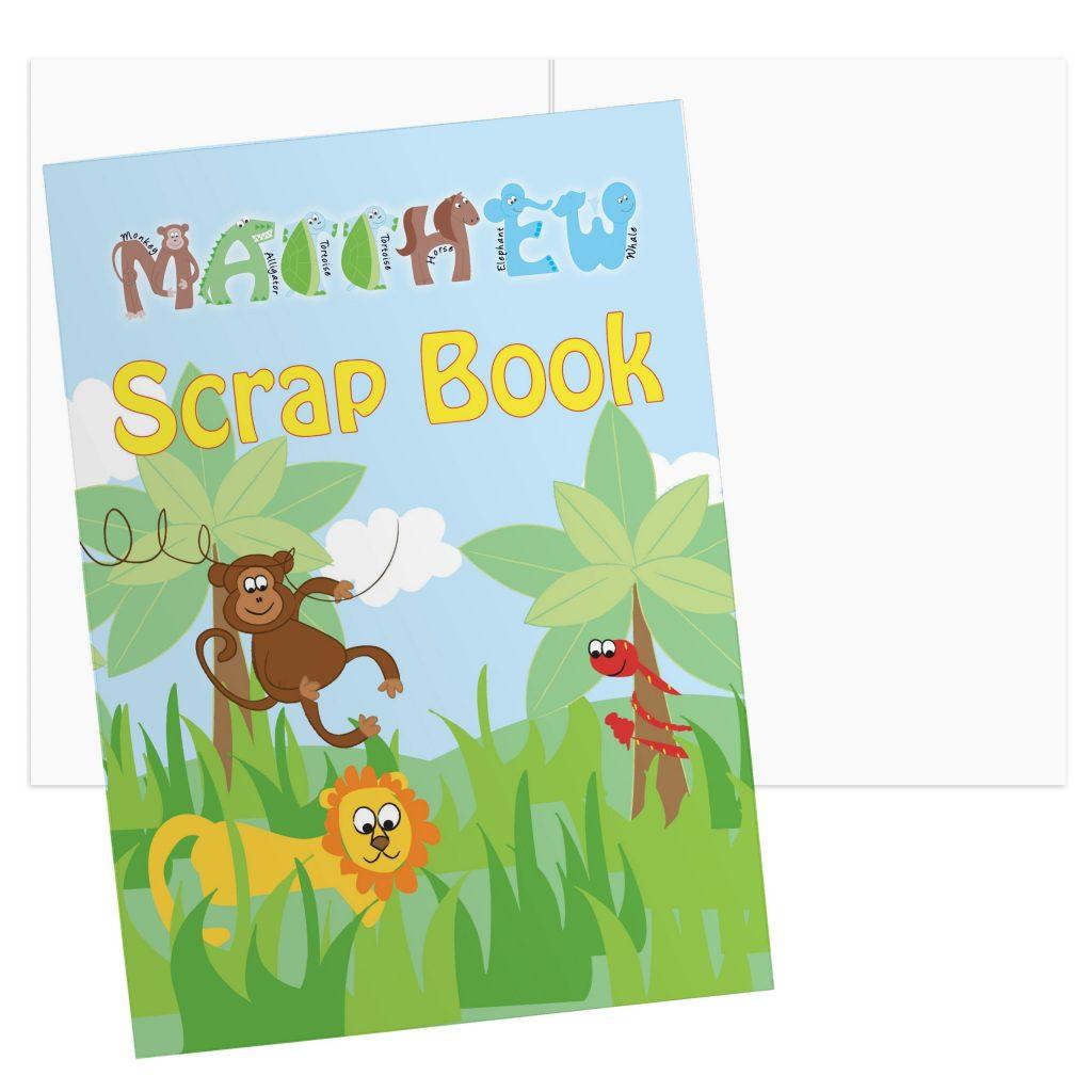 Animals - A4 Scrapbook