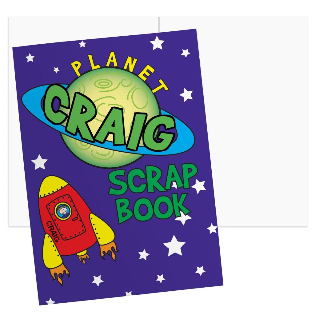 Space - A4 Scrapbook