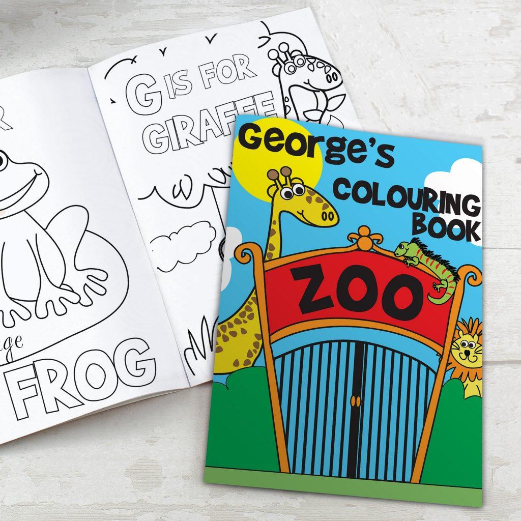 Zoo Colouring Book