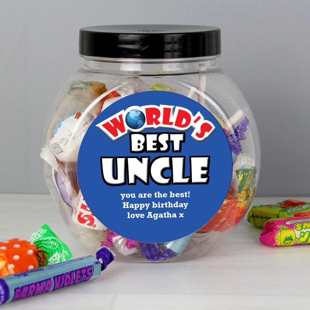 Blue Worlds Best Sweet Jar