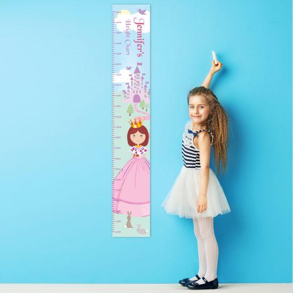 Fairy Tale Princess Height Chart