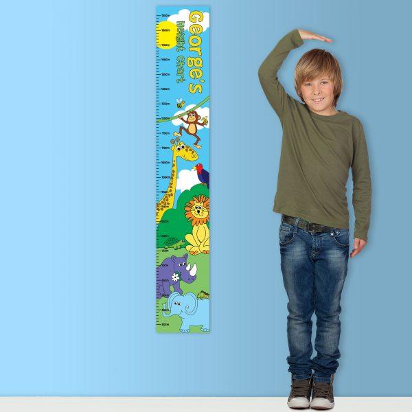 Zoo Height Chart