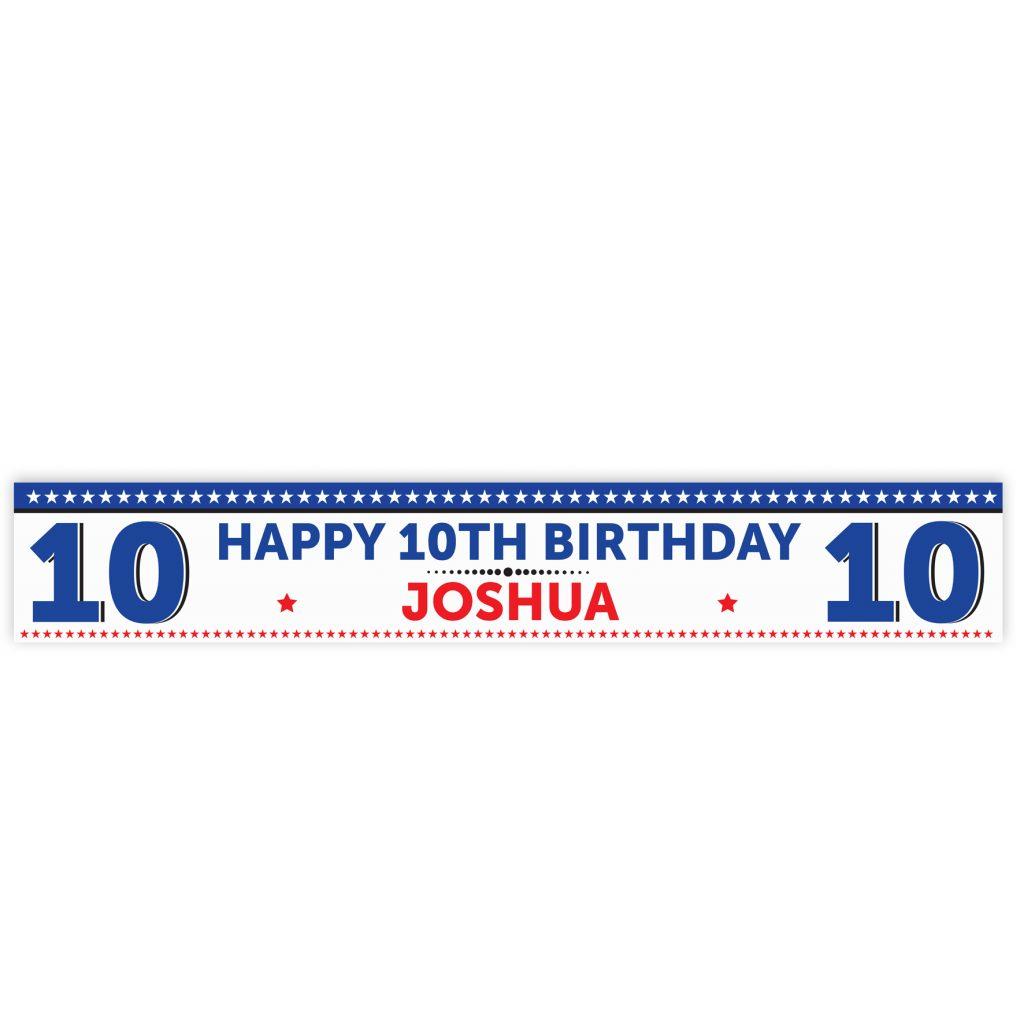 Birthday Star Banner