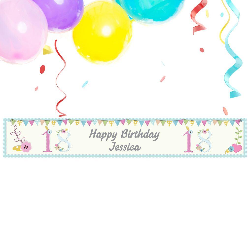 Birthday Craft Banner