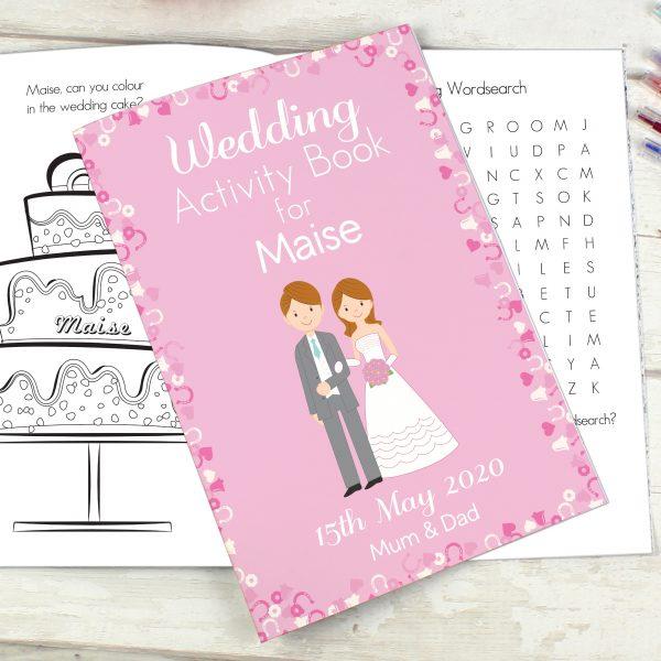 Wedding Activity Book for Girls