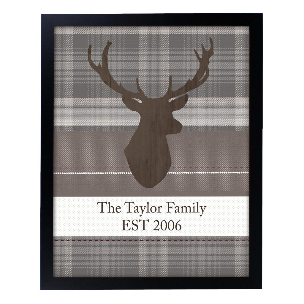 Highland Stag Poster Frame