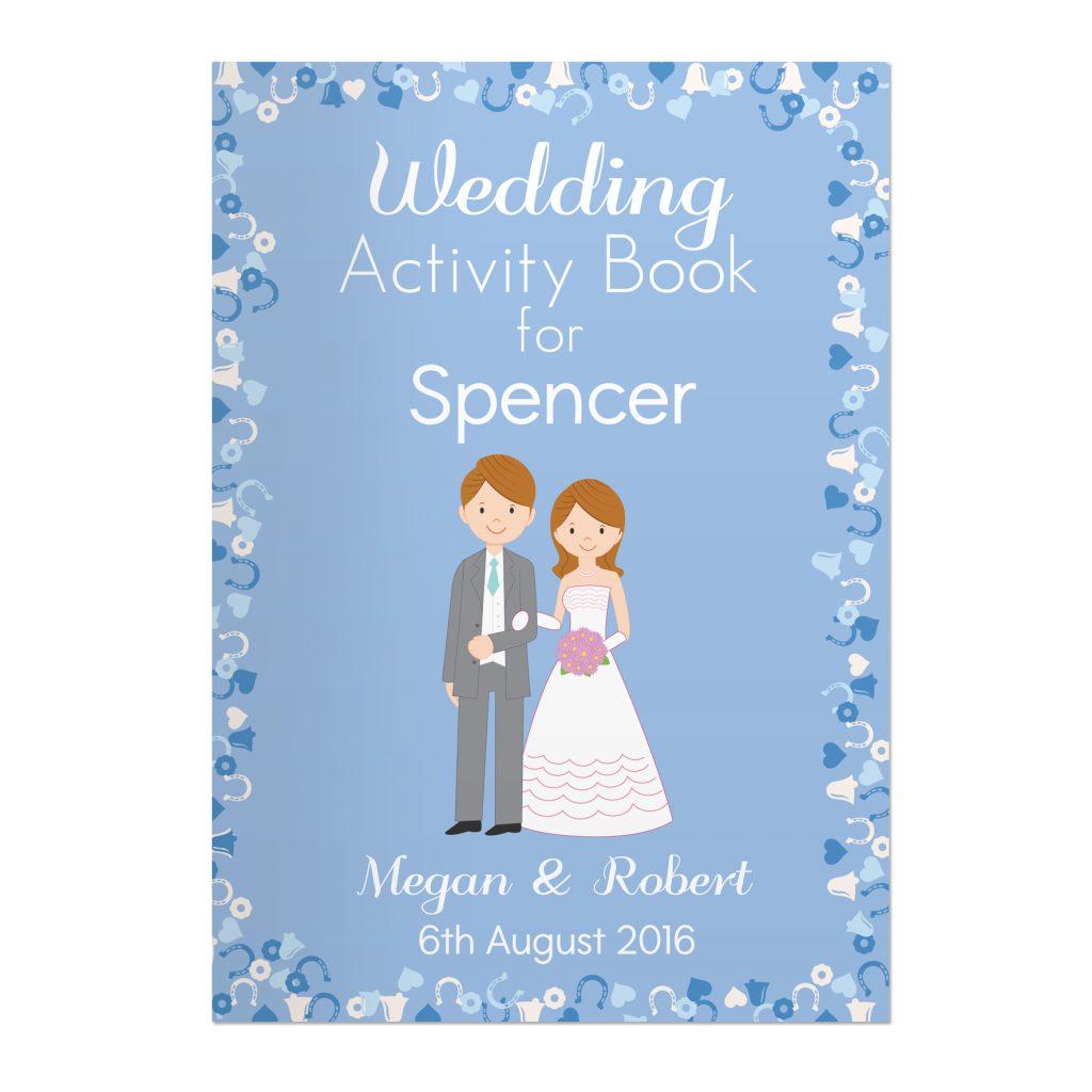 Wedding Activity Book for Boys