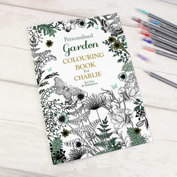 Gardening Colouring Book