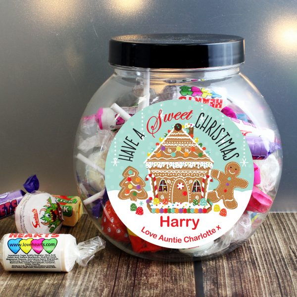 Gingerbread House Sweet Jar