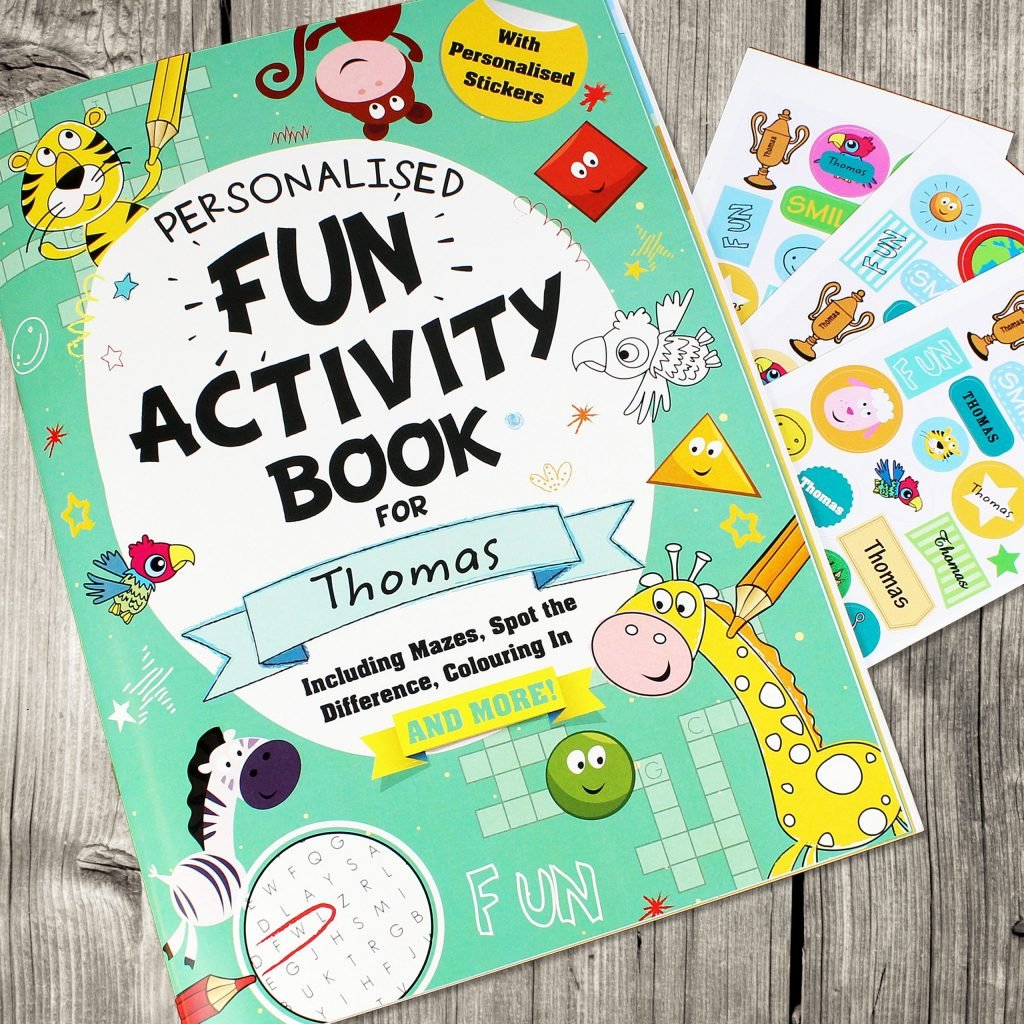 Activity Book with Stickers