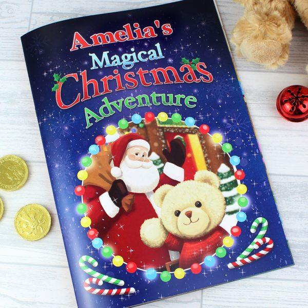 Magical Christmas Adventure Story Book