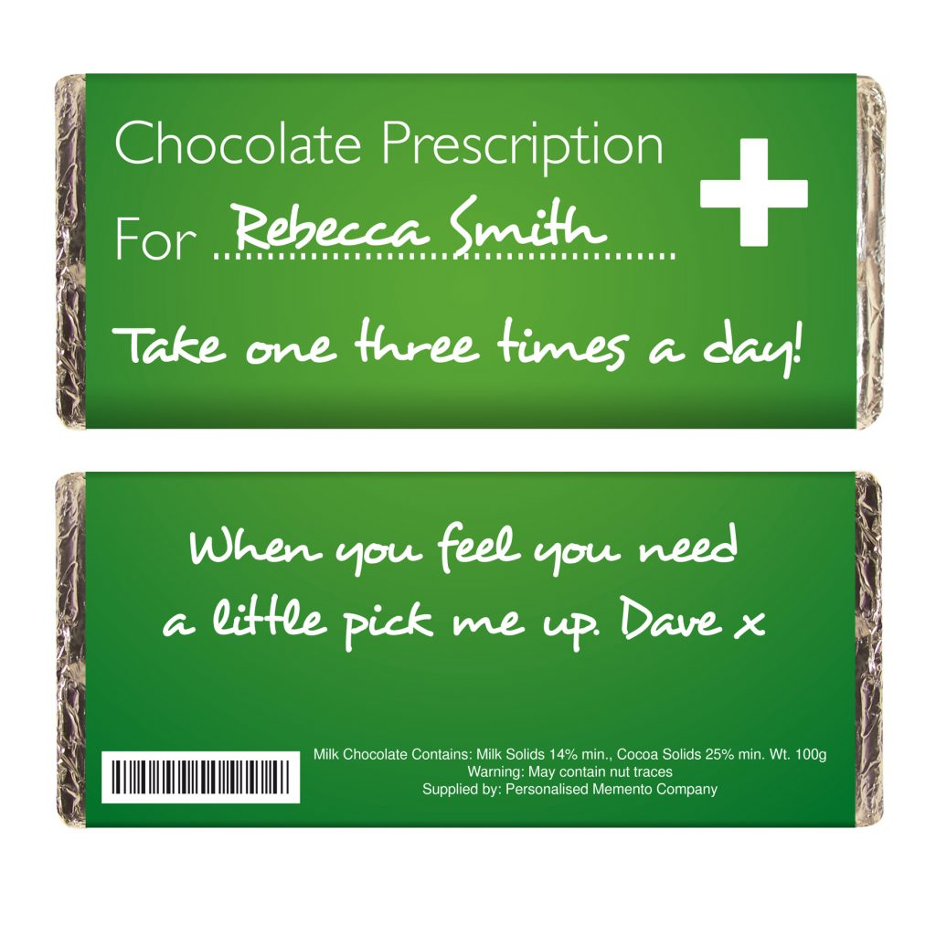 Prescription Milk Chocolate Bar