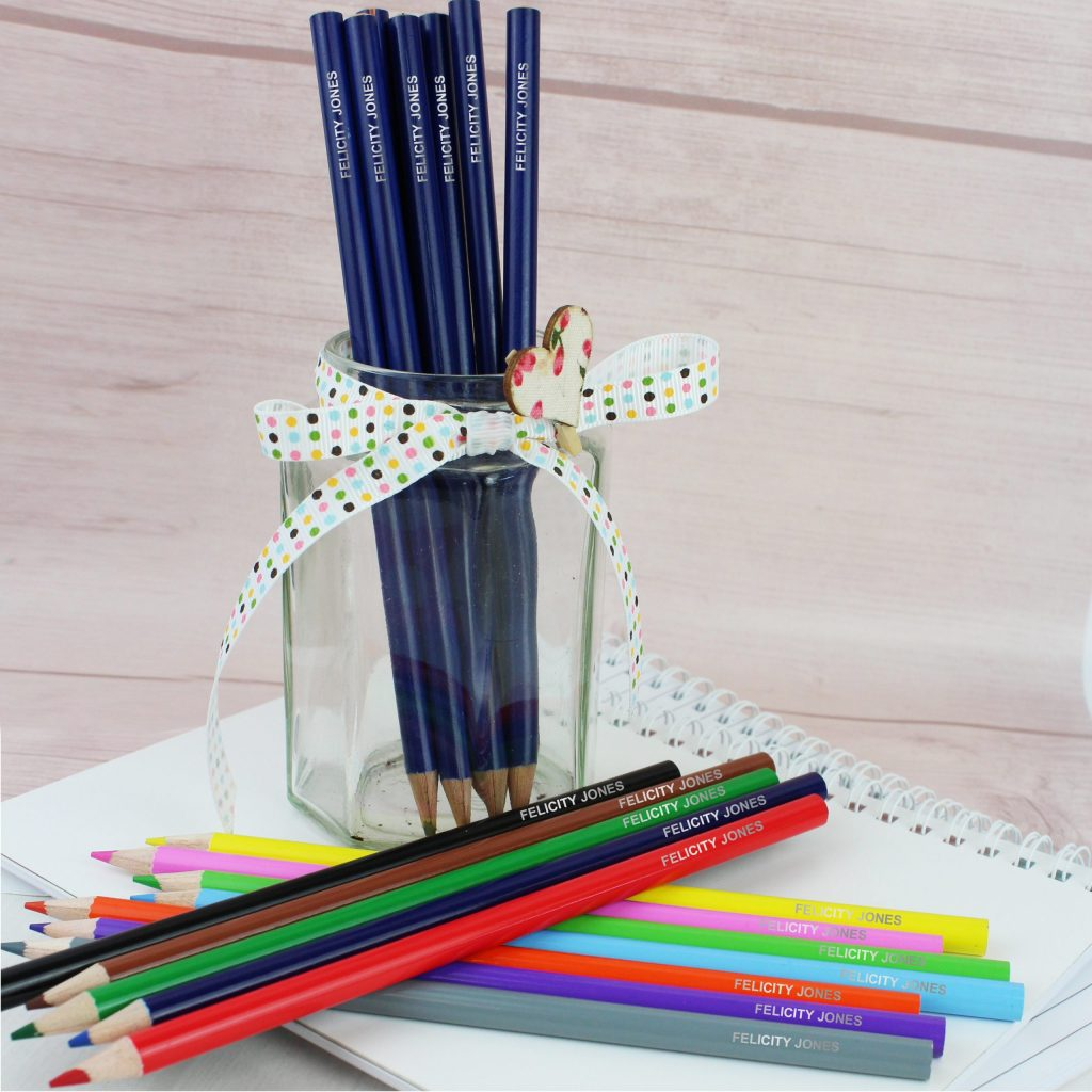 Pack of 20 HB Pencils and Colouring Pencils