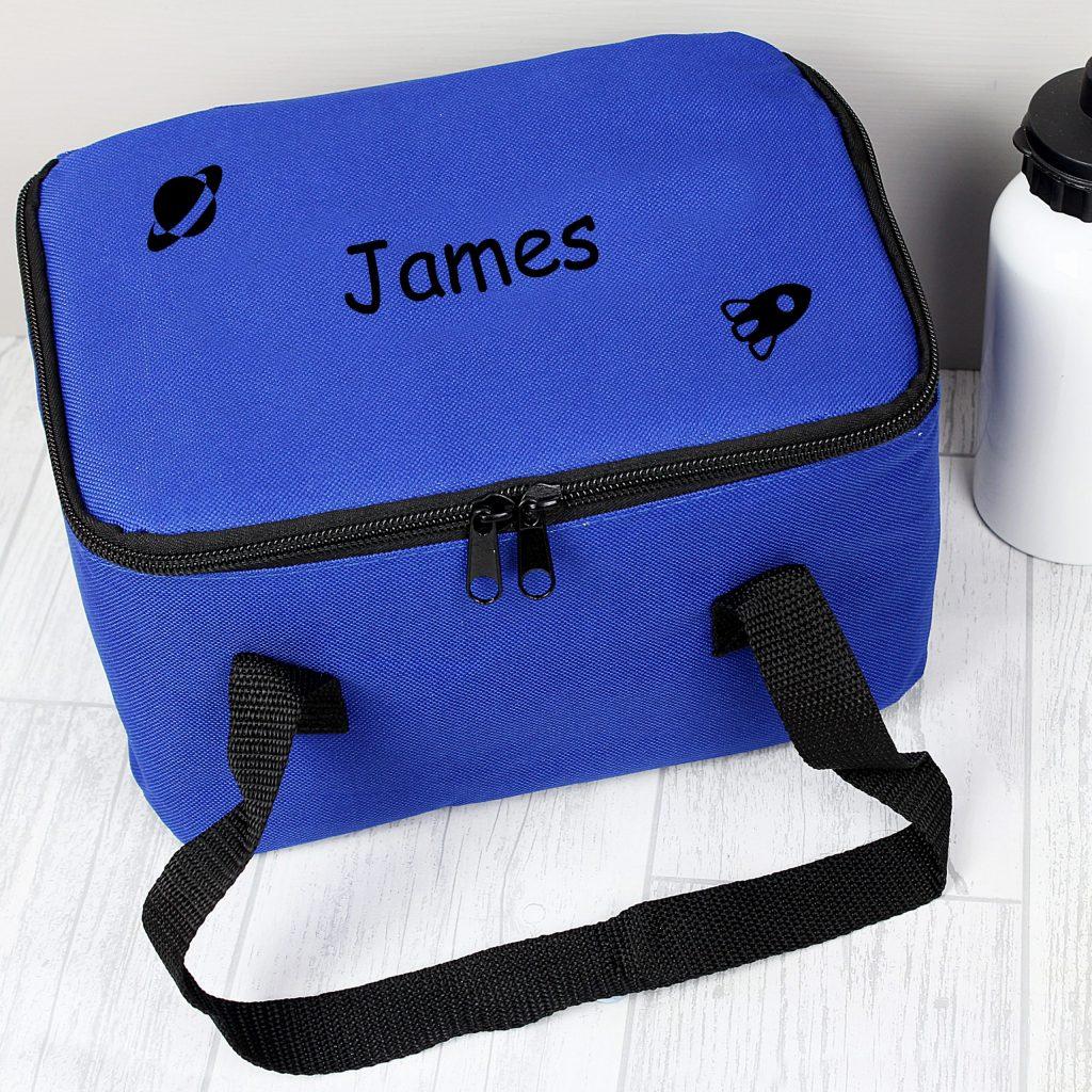 Black Rocket Lunch Bag
